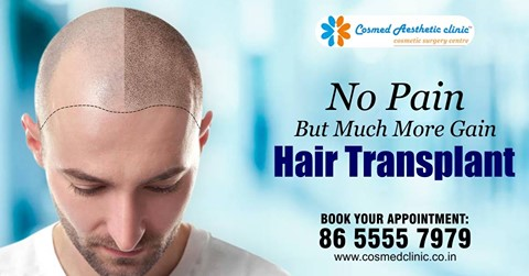 Get assured results with hair transplant
